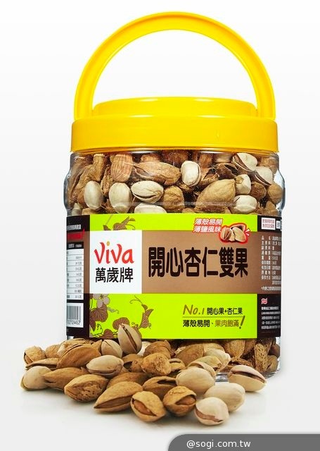 萬歲牌「桶裝帶殼堅果 」 享受天然健康新食感