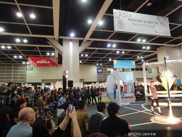 台灣時尚機能紡織品 驚豔香港國際春季成衣及時裝材料展