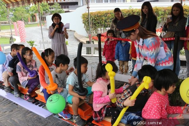 傳統藝術中心「童萌會」 蒸氣小火車、氣球博物館打造兒童新樂園