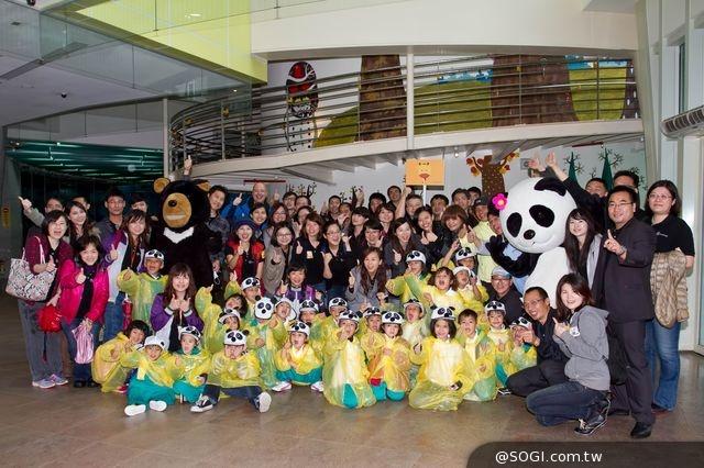 星夢想:台灣賓士暨資融全體員工齊做志工與偏鄉孩童共遊動物園