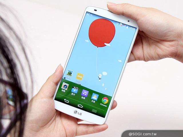 LG G Pro 2開拓視野 體驗全新智慧生活