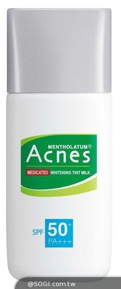 淡化痘痘黯沉 「曼秀雷敦Acnes藥用美白UV潤色隔離乳」
