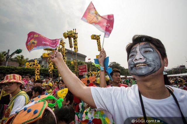 「smart城市新英雄」倡保育 臺北市立動物園建園百年大遊行