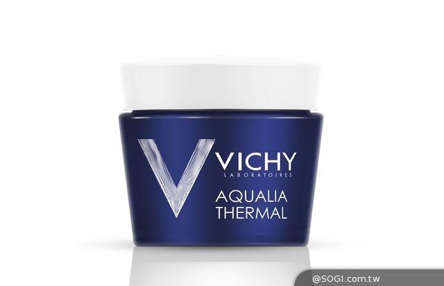 VICHY「午夜奇蹟SPA水面膜」神奇魅力 深層保濕修護
