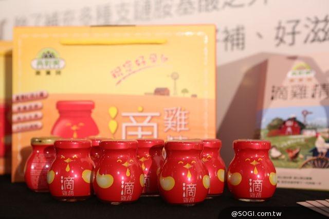 「高野家滴雞精」陶晶瑩擔任代言人「食在好放心」