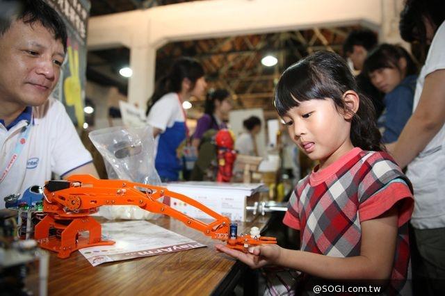 Maker Faire Taipei 2014 英特爾Galileo開發板創意展示