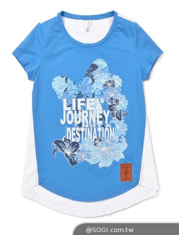 GIORDANO夏日清爽休閒《Life is a Journey》亞洲創意之旅