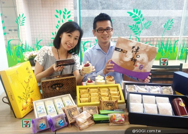 7-ELEVEN老節令新過法「中秋預購首賣」Line肖像月餅、吃土盆栽