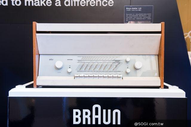 德國百靈傳奇經典設計展開幕「經典傳奇唱機Atelier 1-81」首度來台展出