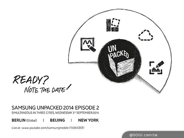 三星發表會場直擊 確定發表Note4與新Gear【IFA 2014】