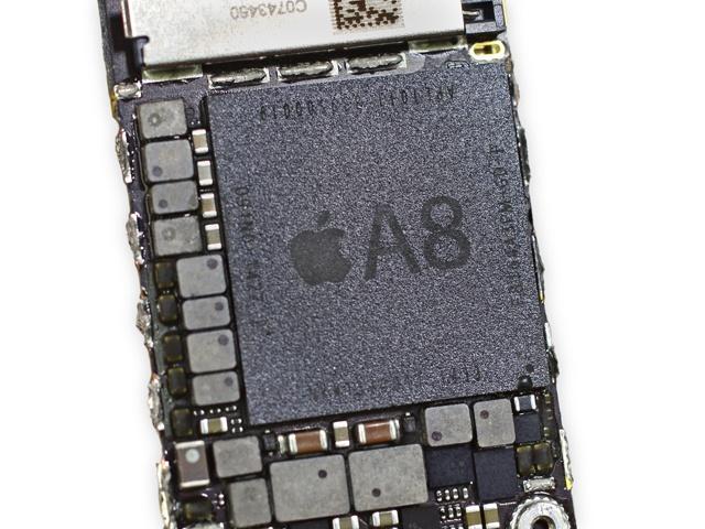 苹果 iphone 6 plus 主板特写