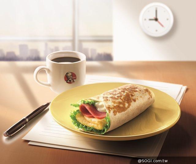 秋日限定 肯德基搶推超值營養均衡早餐 天都是咖啡日溫暖招待