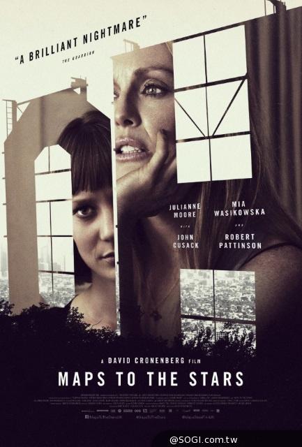 《寂寞星圖》光鮮亮麗的好萊塢名流家族 實際的假面被層層剝下