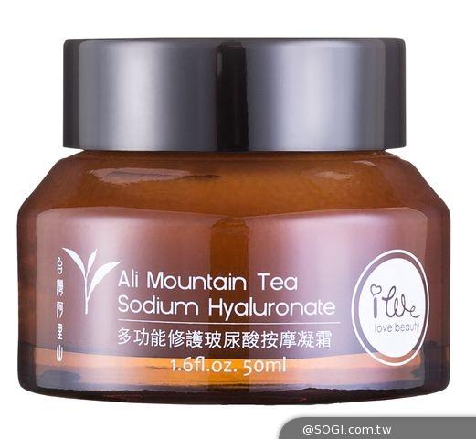 「古小偉專研-i.we艾薇愛美麗」全新高山茶修護玻尿酸保濕系列