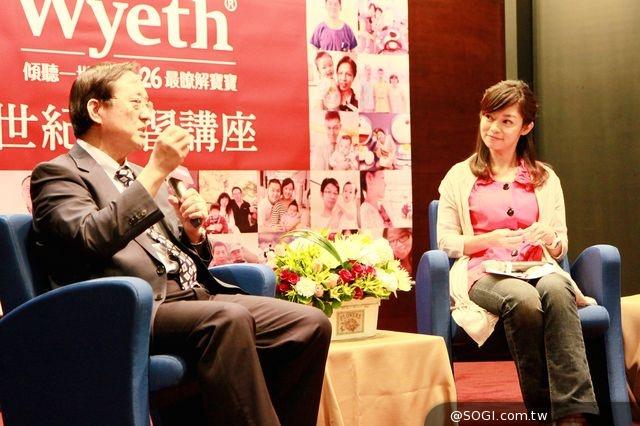 惠氏S-26世紀學習講座 李宏昌醫師、鄭凱云主播暢談幼兒學習力