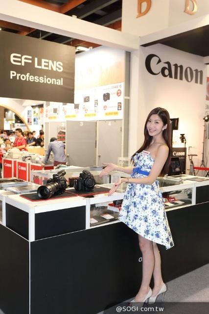 2014國際攝影器材展 Canon最高現省萬元 EOS攝影講座分享技巧