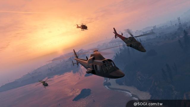 Rockstar認證《俠盜獵車手Online》遊戲更新:10個衝破雲霄的新空中競速
