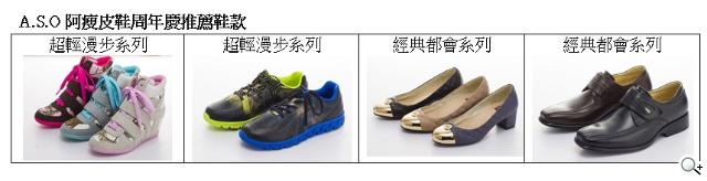 A.S.O阿瘦皮鞋周年慶全面七折 「百萬金囍好禮 」人人有獎
