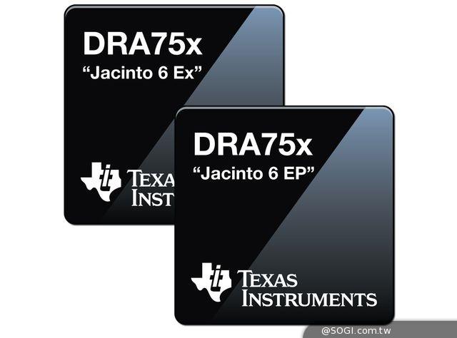 德州儀器加強「Jacinto」資訊娛樂處理器系列 提高數位駕駛艙整合