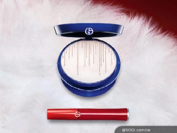 2014限量聖誕彩妝「奢華夜宴」絲絨雪白與亞曼尼紅交織