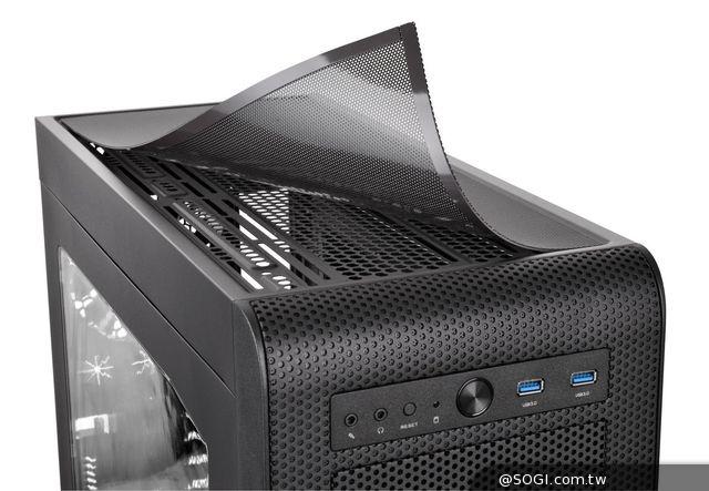 曜越Core V41中直立式機殼正式登場 硬派精神 水冷專業認證