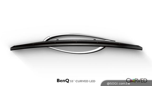 BenQ首款低藍光RU系列曲面大型液晶問世 視界擁抱真實