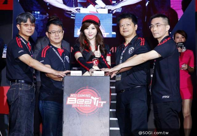 MSI Beat IT 2014 Global全球電競總決賽 重兵集結台北 戰線一觸即發