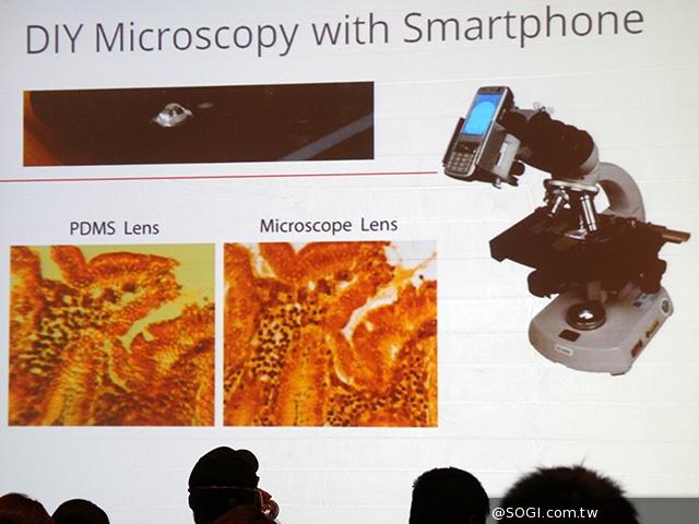 水滴显微镜