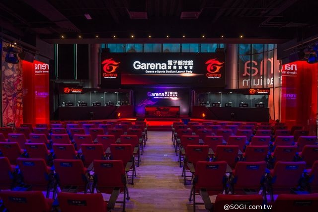 Garena電子競技館正式開幕 結合電競攝影棚及玩家互動概念