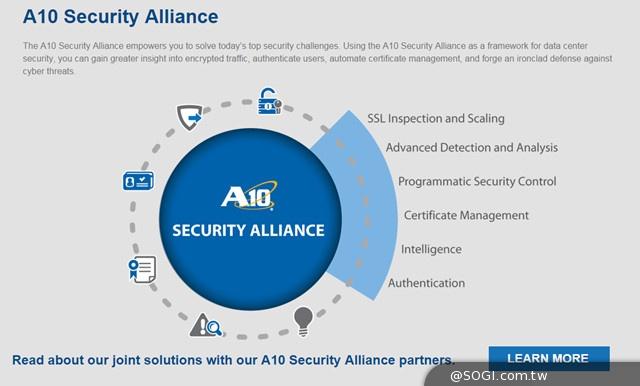 A10 Networks與多家資安廠商合作成立安全聯盟