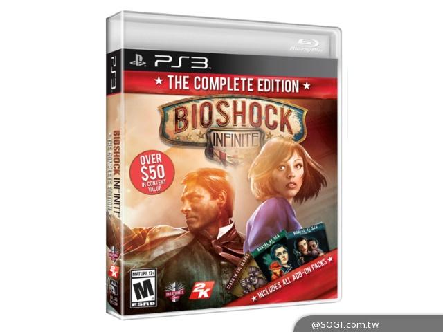 《生化奇兵:無限之城》完整版現已推出 完整收錄主遊戲及追加內容