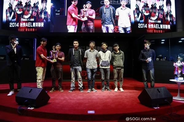 《A.V.A 戰地之王》2014秋季甲組ahq奪冠 獲得IEF台灣出賽資格