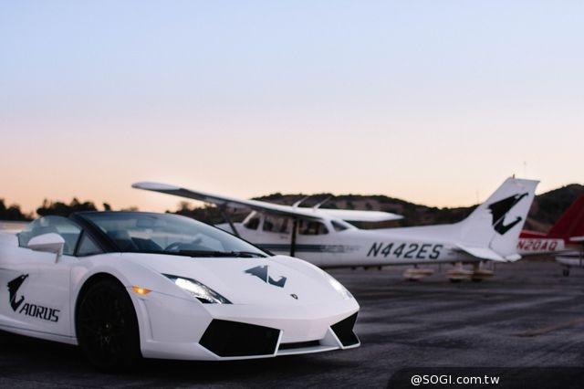 「AORUS VIP 豪華之旅」環球頭等艙、千萬超跑、高空極速體驗