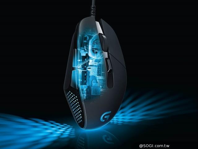 羅技G302 Daedalus Prime MOBA電競遊戲滑鼠強勢登場