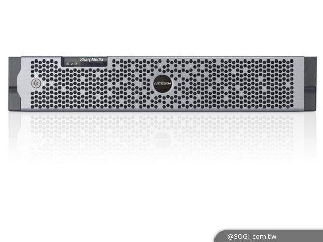 雅特生科技SharpMedia 2U平台 可支援高密度的語音和視訊服