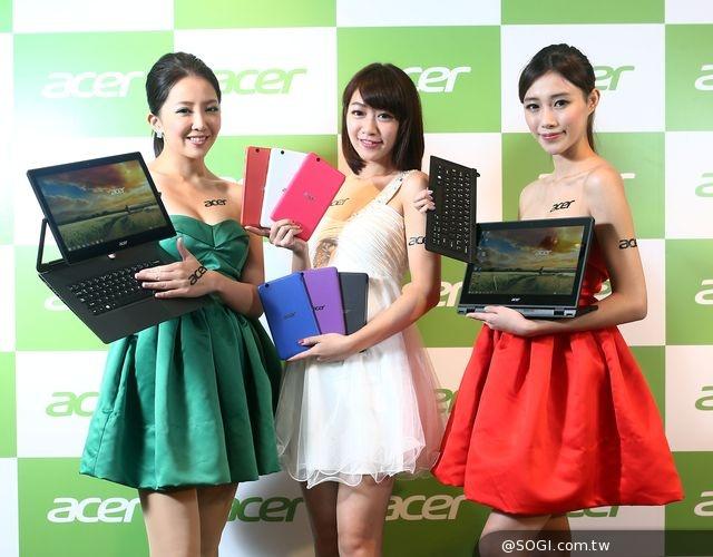 宏碁資訊月主力推薦Switch平板筆電、Iconia平板、Aspire輕薄筆電