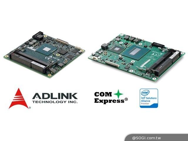 凌華科技搭載最新Intel處理器之新型COM Express Type 2模組化電腦