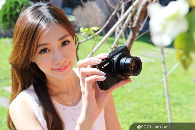 台北資訊月Canon年終慶 PowerShot N2粉餅機上市 亮麗三色吸睛焦點