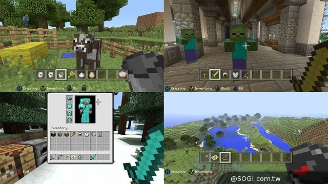 Minecraft《我的世界:Xbox One 版》11月28日在台上市