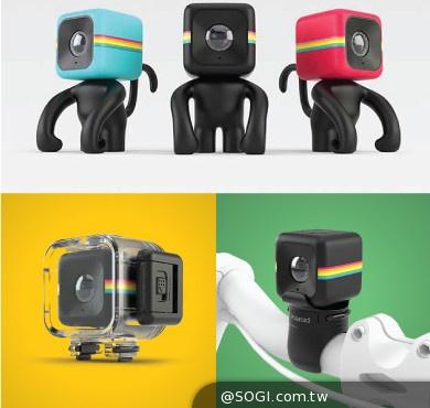 Polaroid CUBE 寶麗來最新隨身攝錄器 美貌與性能兼備席捲資訊展