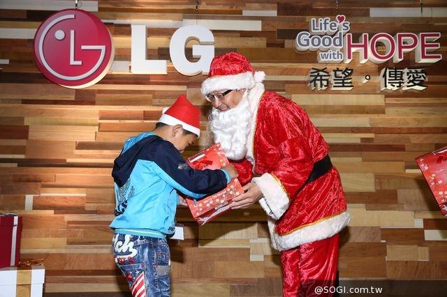 LG電子攜手喜憨兒「2014送希望到偏鄉」聖誕音樂會