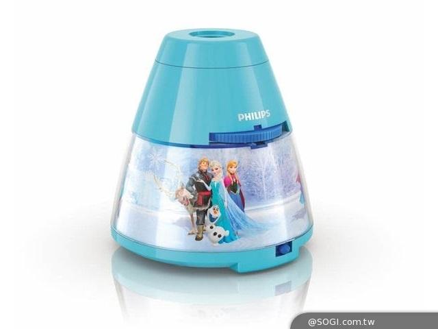 飛利浦「冰雪奇緣LED投影燈」法雅客首賣 艾莎與安娜公主隆重燈場