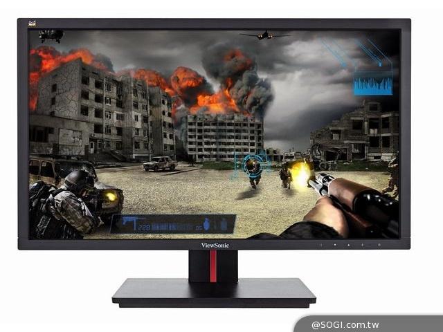 ViewSonic VG2401mh 電競決戰致勝武器 144Hz超高更新頻率