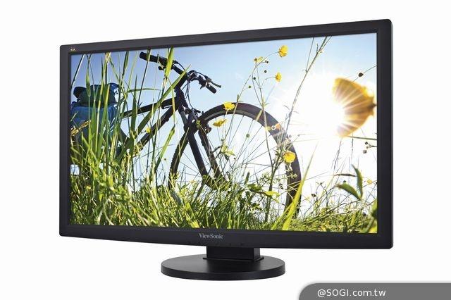 ViewSonic人體工學商用顯示器 VG系列 滿足企業高效需求
