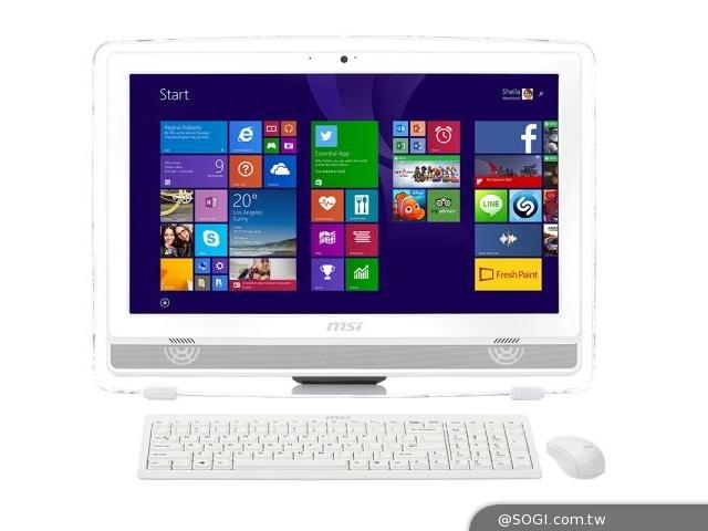 微星AIO PC搶搭耶誕風潮 「白色桌機」送禮新選擇