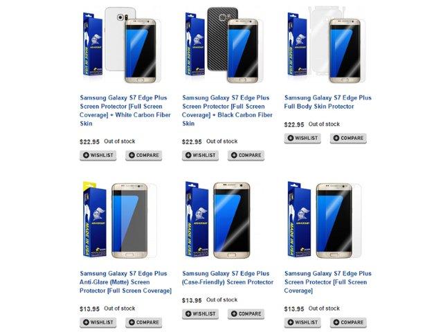 配件商曝光:三星S7 edge+与Note 7同时发布