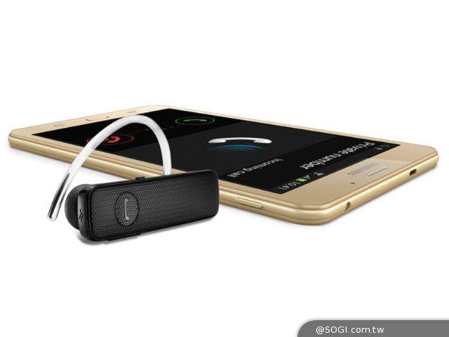 三星7寸大屏幕手机GALAXY J Max印度发布