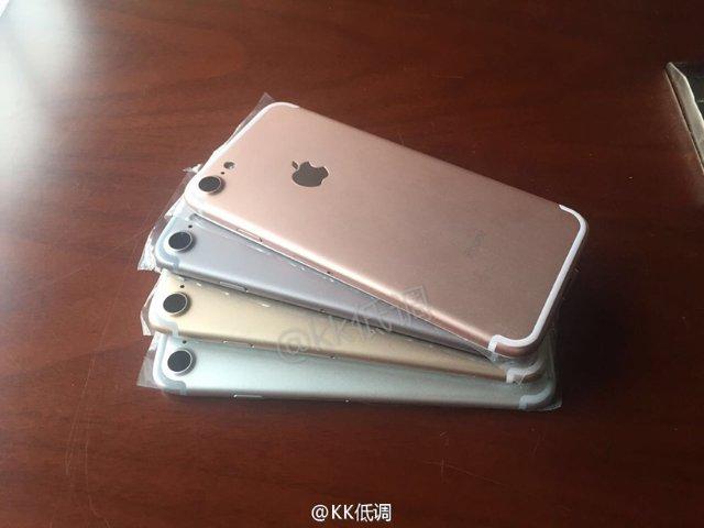 沒有新色?iPhone 7四色外壳曝光