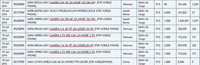 三星Note 7更多细节曝光 配备12MP OIS主镜头