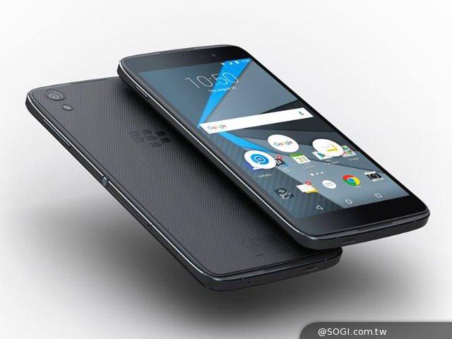 黑莓发布安卓新机DTEK50 号称最薄的黑莓机!